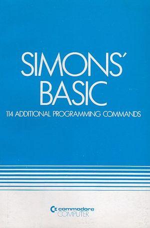 Simons' BASIC - Simons' BASIC manual front page.