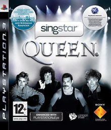 SingStar QUEEN cover art