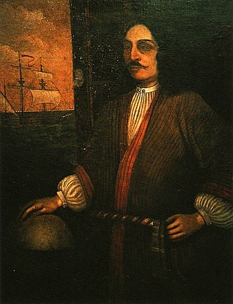 Sir George Somers, Lyme Regis Sir George Somers portrait.jpg