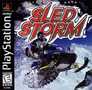 Sled Storm - Image: Sled Storm (1999) Coverart