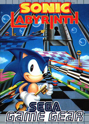 Sonic Labyrinth - European cover art