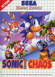 <i>Sonic Chaos</i> 1993 video game