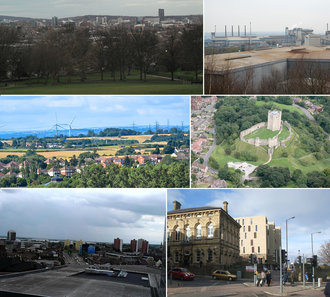 South Yorkshire - Image: South Yorkshire montage
