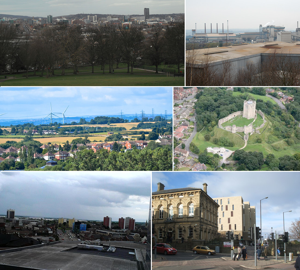 South Yorkshire montage