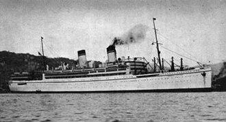 SS Giulio Cesare - Image: Ss guilio cesare 1923