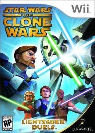 Star Wars: The Clone Wars – Lightsaber Duels - Image: Star Wars The Clone Wars Lightsaber Duels cover