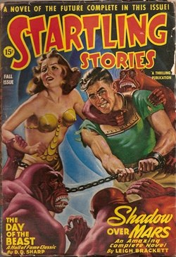 Startling Stories 1944 Fall cover
