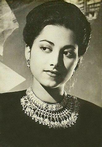 Suraiya - Suraiya in the film 'Char Din' in 1949 opposite Shyam