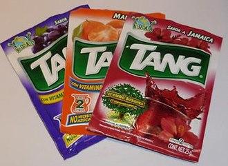 Tang (drink mix) - Tang Drink Packets.jpg
