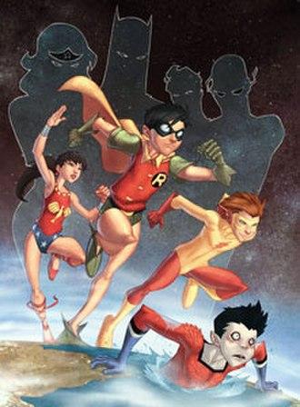 Garth (comics) - Image: Teen Titans Year 1