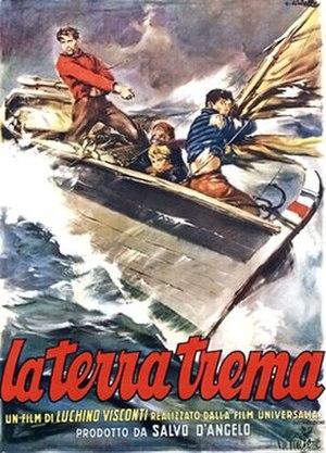 La Terra Trema - Italian theatrical release poster