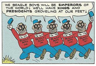 Beagle Boys villains in Disney comics