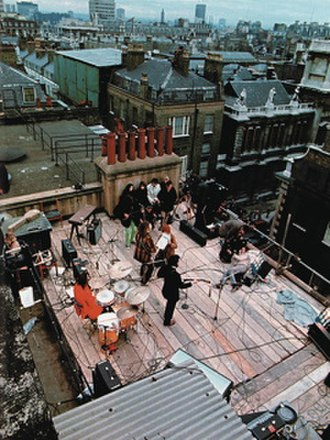 The Beatles' rooftop concert - Image: The Beatles rooftop concert