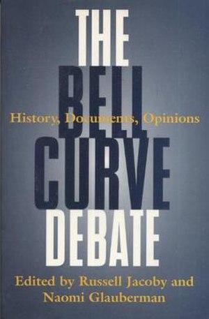 The Bell Curve Debate - Image: The Bell Curve Debate