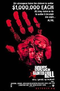 <i>House on Haunted Hill</i> (1999 film) 1999 American supernatural horror film