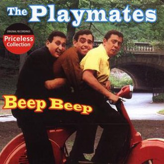 The Playmates - Image: The Playmates Beep Beep album cover