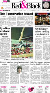<i>The Red & Black</i> (University of Georgia) Student newspaper serving the University of Georgia