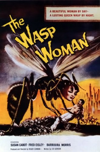 The Wasp Woman - Theatrical release poster