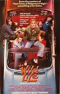<i>The Wild Life</i> (film) 1984 film by Art Linson