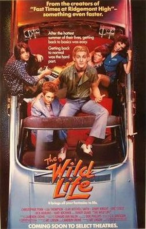 The Wild Life (1984 film) - Theatrical release poster