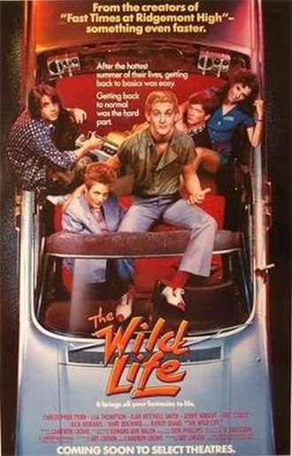The Wild Life (film) - Theatrical release poster