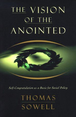 The Vision of the Anointed - Cover of the hardcover edition