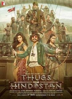 <i>Thugs of Hindostan</i> 2018 Indian Hindi-language action adventure film