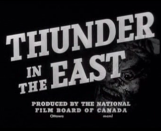 <i>Thunder in the East</i> (1950 film) 1950 film