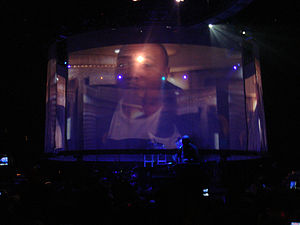 FutureSex/LoveSounds - Timbaland guested on several dates on Timberlake's 2007 FutureSex/LoveShow worldwide concert tour. Timbaland, his protégé Danja, and Timberlake wrote and produced a majority of tracks that appeared on the album.