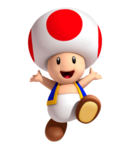 """Toad (Nintendo) fictional character in Nintendos """"Mario"""" franchise"""