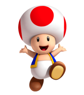 Toad (Nintendo) - Toad as seen in Super Mario 3D Land
