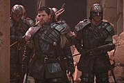 Tomin and some Ori warriors in Stargate: The Ark of Truth