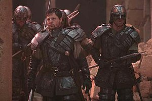 Ori (Stargate) - Tomin and some Ori warriors in Stargate: The Ark of Truth