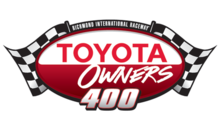 Toyota owners 400 logo.png