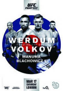 UFC Fight Night 127 Werdum vs Volkov Live Stream Online Free