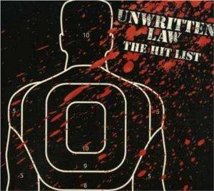The Hit List (Unwritten Law album) - Image: Unwritten Law The Hit List cover