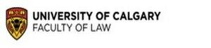 University of Calgary Faculty of Law - Image: Uof Calgary Law logo