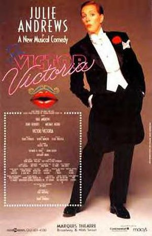 Victor/Victoria (musical) - Original Broadway Poster