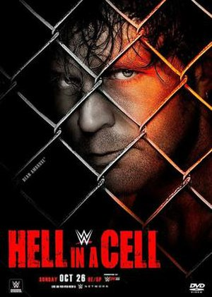 Hell in a Cell (2014) - DVD cover featuring Dean Ambrose
