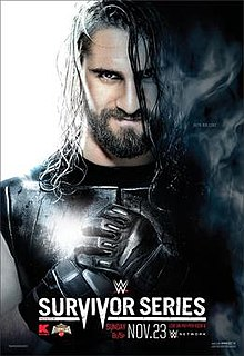 Survivor Series (2014) 2014 WWE pay-per-view and WWE Network event