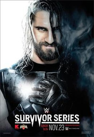 Survivor Series (2014) - Promotional poster featuring Seth Rollins