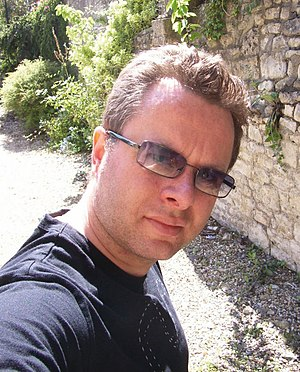 Matt Bielby - Matt Bielby in Bath, 2007.