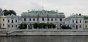 Embassy of the United Kingdom in Moscow - The former British Embassy in Boloto, facing Kremlin, originally Gustav List mansion