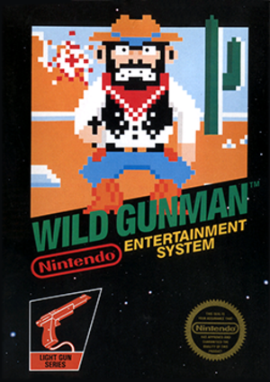 Wild Gunman - Package of Nintendo Entertainment System version