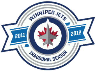 Winnipeg Jets - The Winnipeg Jets patch commemorating the first season.