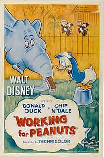 <i>Working for Peanuts</i> 1953 Donald Duck cartoon