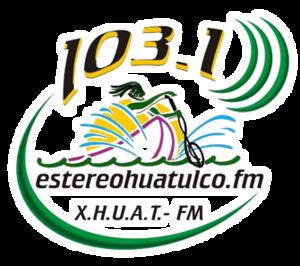 XHUAT-FM - Image: XHUAT Estereo Huatulco logo