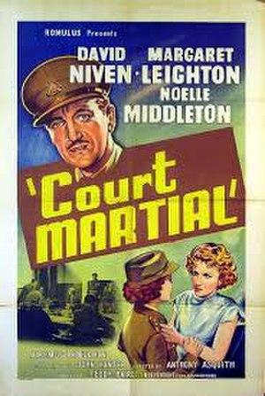 Carrington V.C. (film) - U.S. theatrical poster