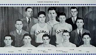 1932–33 Illinois Fighting Illini men's basketball team - Image: 1932 33 Illinois Fighting Illini men's basketball team