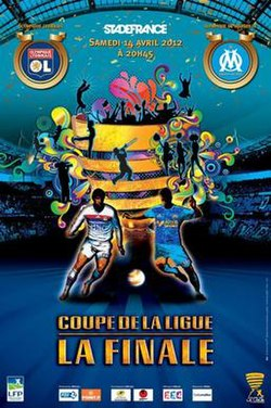 2012 coupe de la ligue final wikipedia - Finale coupe de la ligue des champions ...